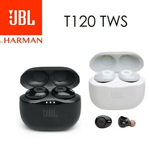 Ecouteurs Bluetooth Sans Fil JBL T120 TWS By Harman Pure Bass Tune 120 TWS Casqu