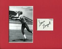 Steve Largent Tulsa Golden Hurricane Seahawks HOF Signed Autograph Photo Display