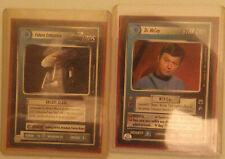 Star Trek CCG 1E Lot of Rares, Promos, and more