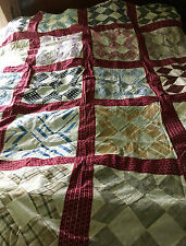 Vintage Quilt Top circa 1885 Swing In the Corner 60 x 72 Mint handpieced cotton