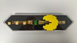 Timex x Pacman T80 watch, Gold toned, 34 mm, great condition