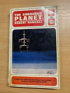 """1963 ROBERT RANDALL """"THE SHROUDED PLANET"""" SCIENCE FICTION PAPERBACK BOOK (P2)"""
