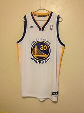 Golden State Warriors GSW Stephen Curry Jersey White XL with Personal Autograph