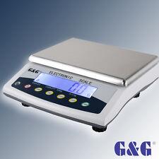 G&G E-KY 3kg/6kg/15kg/30kg Industriewaage Präzisionwaagen Laborwaage