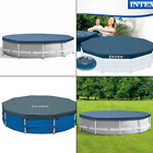 Round Metal Frame Pool Cover, Blue, 10 ft. Free Shipping