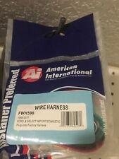 100% OEM AMERICAN INTERNATIONA WIRING HARNESS PLUG FOR AFTERMARKET RADIO  FWH598