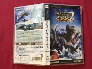 PSP MONSTER HUNTER PORTABLE 2nd NO MANUAL 2007 TESTED WORLD FREE POST