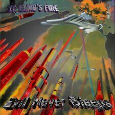 ST.ELMOS FIRE - EVIL NEVER SLEEPS   CD NEUF