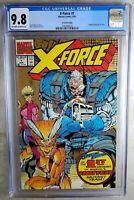 X-Force #1 2nd Print Marvel 1991 CGC 9.8 NM/MT OW/WP Comic Q0104