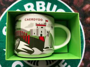 Starbucks Caerdydd/Cardiff Wales YAH you are here 14fl oz mug