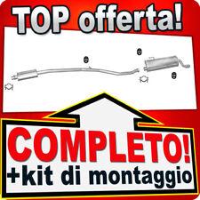 Scarico Completo PEUGEOT 206 CC 1.6 16V 2000-2005 Marmitta J17