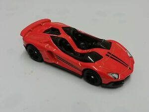 Hot wheels LAMBORGHINI AVENTADOR J orange
