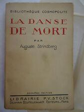 STRINDBERG (Auguste). La Danse de mort. 2ème édition. Paris: Stock (1921).