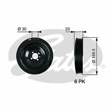 GATES TVD1131 Belt Pulley, crankshaft
