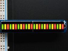 Adafruit Bi-color (rojo/verde) Gráfico de barras 24-Bar con I2C Kit De Mochila [ADA1721]