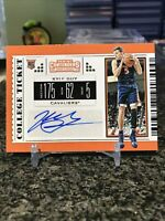 2019 Contenders Draft Picks #79 Kyle Guy Rookie Card RC Auto College Ticket SP!!