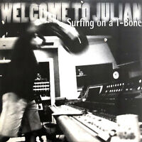 Welcome To Julian CD Single Surfing On A T-Bone - Promo - France (EX/M)