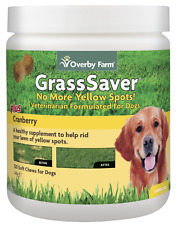 GrassSaver Soft Chew for Dogs | Stop Lawn Burn | Natural | 120pcs | Overby Farm