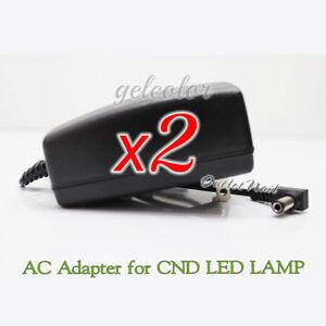 LOT 2 - AC Adapter Replacement CND LED Light 36V 1A Lamp  100-240V YS35-3601000U