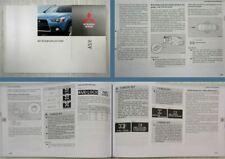 Mitsubishi ASX Betriebsanleitung Bedienungsanleitung 2010