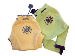 Winter Diaper Cover MERINO WOOL infant cloth nappy soaker longies leggings pants