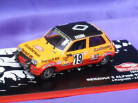 RENAULT 5 ALPINE TURBO RAGNOTTI MONTE CARLO RALLY 1978 MC004 1:43 ALTAYA NEW