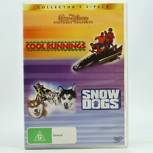 Cool Runnings + Snow Dogs DVD Good Condition Free Tracked Post