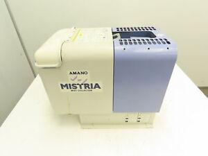 "Amano MZ-10 Mistria Oil Mist Collector Unit 200V 0.4Kw 3Ph 2 Poles 4.75"" Inlet"
