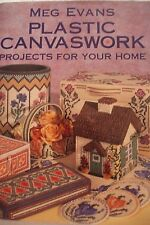 Plastic Canvaswork: Projects for Your Home by Meg Evans (Hardback, 1999) #