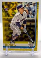 Luis Urias 2019 Topps WALGREENS YELLOW ROOKIE RC #192 Padres MINT+