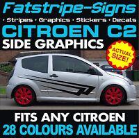 CITROEN C2 GRAPHICS CAR VINYL GRAPHICS STRIPES DECALS STICKERS VTR VTS 1.1 1.4