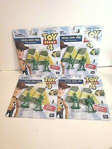 Parachute Army Men Toy Story 4 NIP  Disney Pixar Set of 4 Packs