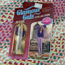 VINTAGE GLAMOUR GALS COLLECTION DOLL Jessie In Perfectly Purple KENNER 1980s