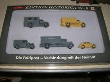 "Wiking / Roskopf  PMS Set "" Die Feldpost "" Edition No. 8 in 1:87 H0 HO in Box"