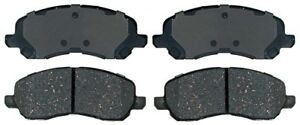Disc Brake Pad Set-Ceramic Disc Brake Pad Front ACDelco Advantage 14D866CHF1