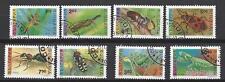 Insectes bulgarie 3 séries complètes de 8 timbres oblitérés