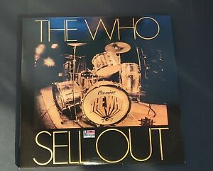 The Who - Sell Out (LP) Drum Cover, Vinyl