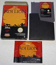 LE ROI LION sur Nintendo NES