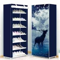 Non-woven Shoe Cabinet Home Modern Furniture With Fabric Cover Storage Organizer