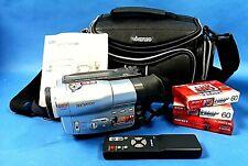 SAMSUNG VP-M54 440 Digital Zoom 8mm Video Tape HI8 Camera Excellent
