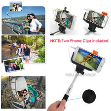 MONOPOD WIRED SELFIE STICK FOR APPLE IPHONE AND SAMSUNG GALAXY S6 S5 S4 S7 Edge