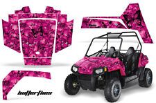 AMR Racing Polaris RZR 170 Decal Graphic Kit UTV Accessories All Years BFLY BLK
