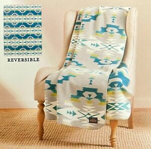Pendleton Home Collection Classic Jacquard Throw Reversible Avra Valley