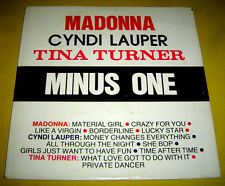PHILIPPINES:MADONNA ,CYNDI LAUPER,TINA TURNER MINUS ONE LP,AS POPULARIZED,Good