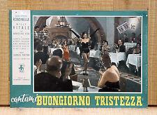 CANTAMI BUONGIORNO TRISTEZZA fotobusta poster Giacomo Rondinella Vitale E30