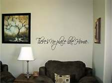 There's no place like Home Vinyl Wall Decal Stickers Decor Letters Saying Decor