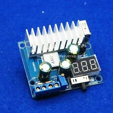 DC 100W 6A 3-35V to 3-35V 12V/5V Boost Step-up Module USB f/Solar mobile power Y