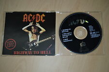 AC/DC ‎– Highway To Hell (Live). CD-Maxi