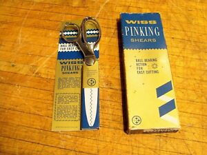 Wiss No. CC-7 Pinking Shears NEW w/org packaging