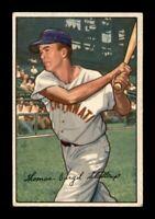 1952 Bowman Set Break # 6 Virgil 'Red' Stallcup VG-EX *OBGcards*